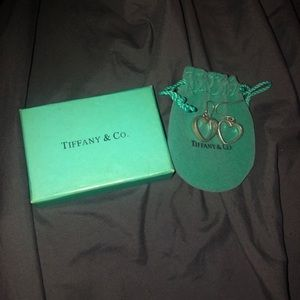 tiffany and co heart earrings .925